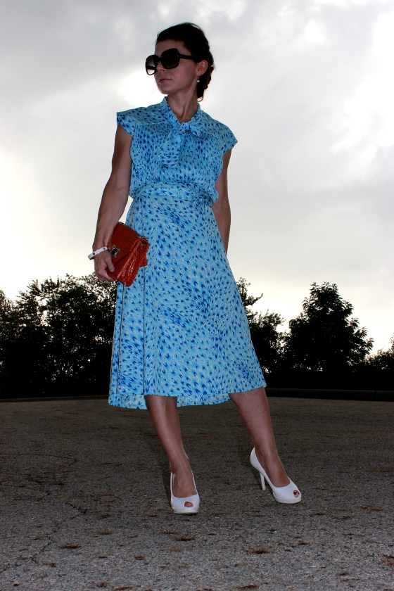 blue leopard dress3