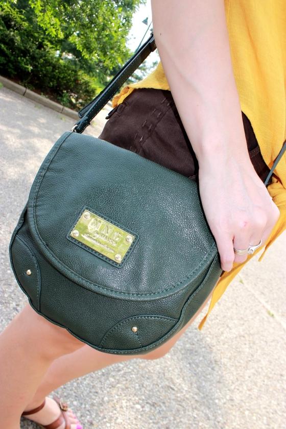 Mango-messenger bag