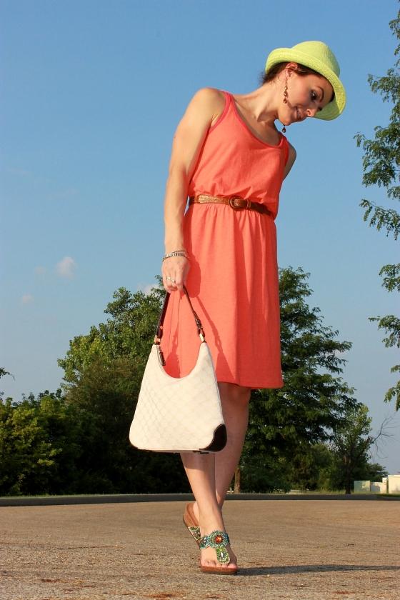 orange dress4